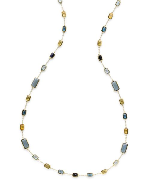 Ippolita - Metallic 18k Rock Candy® Station Necklace In Allure - Lyst