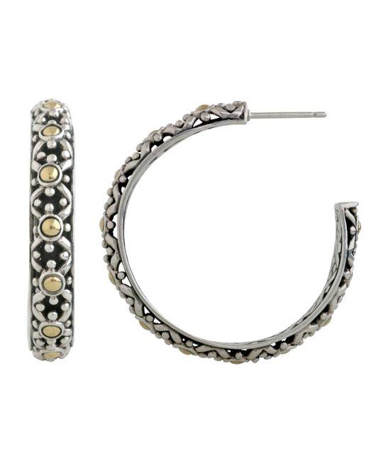 John Hardy - Metallic Jaisalmer Big Hoop Earrings - Lyst
