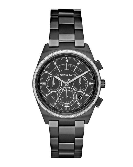 MICHAEL Michael Kors - Black 38mm Vail Chronograph Watch for Men - Lyst