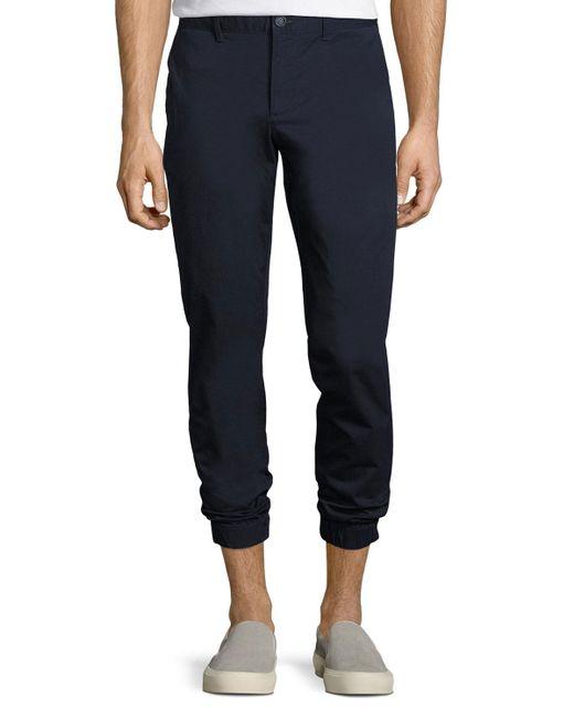 Original Penguin - Blue Lightweight Cotton Jogger Pants for Men - Lyst