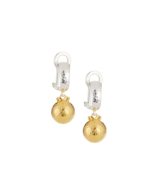 Gurhan - Metallic Two-tone Drop Earrings - Lyst