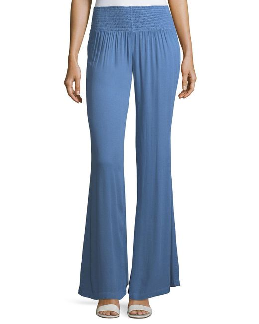 Young Fabulous & Broke | Blue Zuma Flare-leg Pants | Lyst