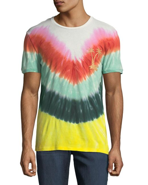 Antony Morato - Multicolor Men's Tie-dye Crewneck T-shirt for Men - Lyst