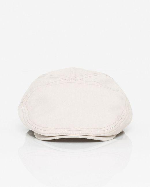 Le Chateau - Natural Cotton Blend Hat for Men - Lyst