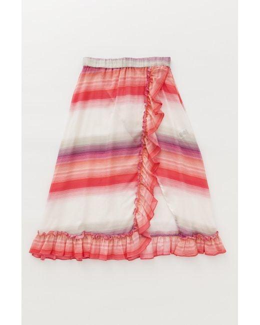 Lemlem | Pink .com Exclusive - Banu Ruffle Skirt | Lyst