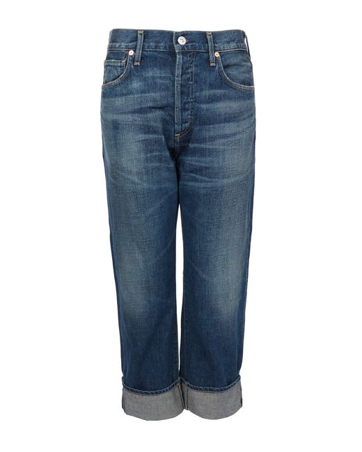 Citizens of Humanity | Blue Emerson Mid-rise Slim Boyfriend Jeans | Lyst