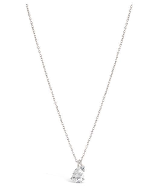 Dinny Hall | Metallic Silver Gem Drops White Topaz Pendant Necklace | Lyst