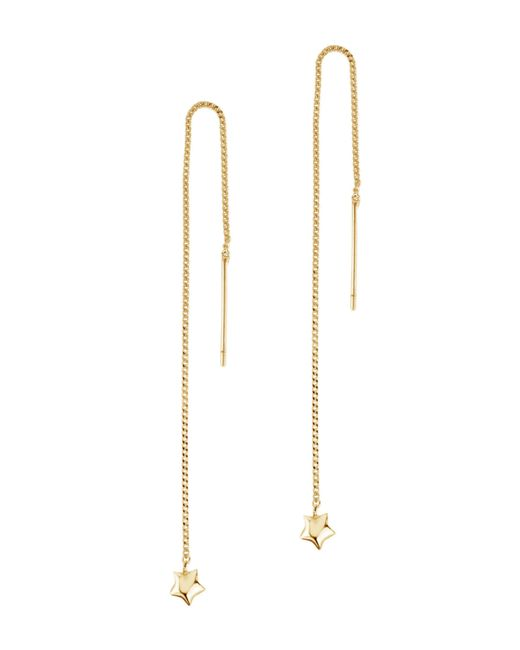 Dinny Hall - Metallic Gold-plated Bijou Star Chain Drop Earrings - Lyst