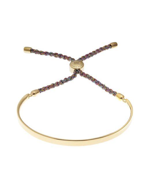 Monica Vinader | Gold-plated Fiji Metallica Cord Friendship Bracelet | Lyst