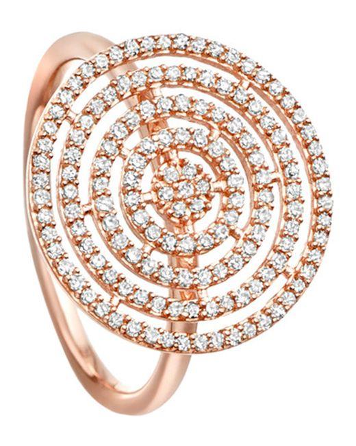 Astley Clarke - Metallic Icon Aura 14ct Rose-gold And Diamond Ring - Lyst