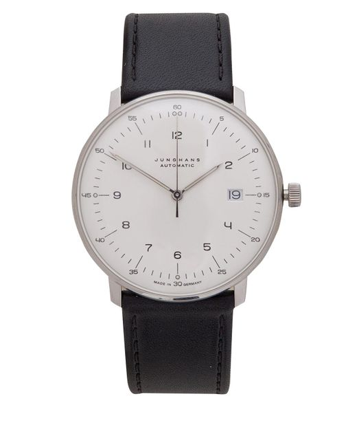 Junghans | White Calfskin Max Bill Automatic Watch for Men | Lyst