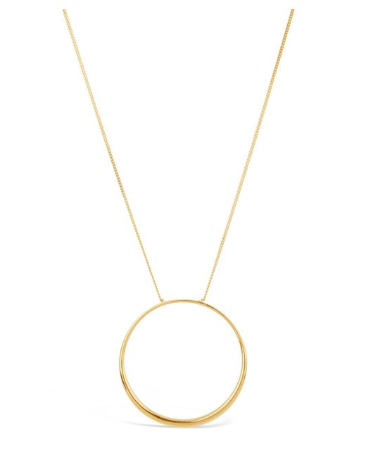 Dinny Hall - Metallic Gold-plated Signature Halo Pendant Necklace - Lyst