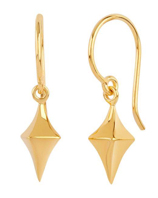 Dinny Hall - Metallic Gold Vermeil Medium Almaz Drop Earrings - Lyst