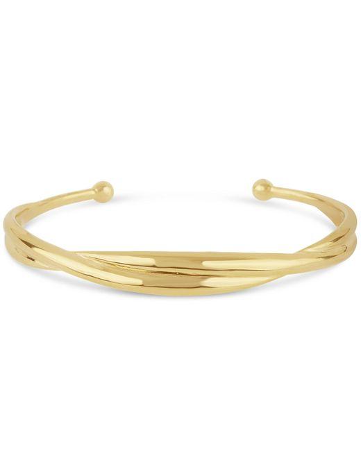 Dinny Hall - Metallic Gold-plated Twist Cuff - Lyst
