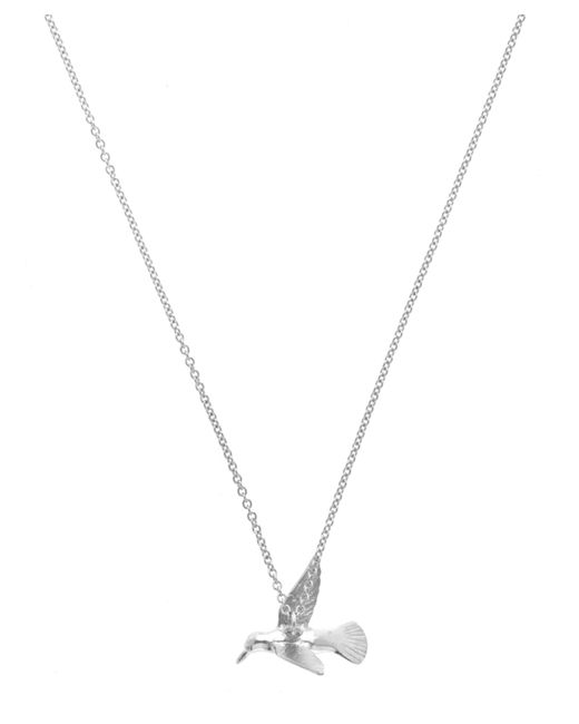Alex Monroe - Metallic Silver Hummingbird Necklace - Lyst