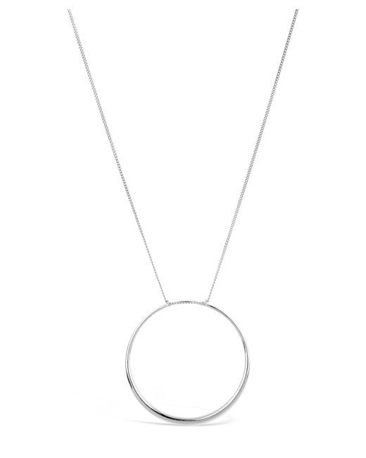 Dinny Hall - Metallic Silver Signature Large Halo Pendant Necklace - Lyst