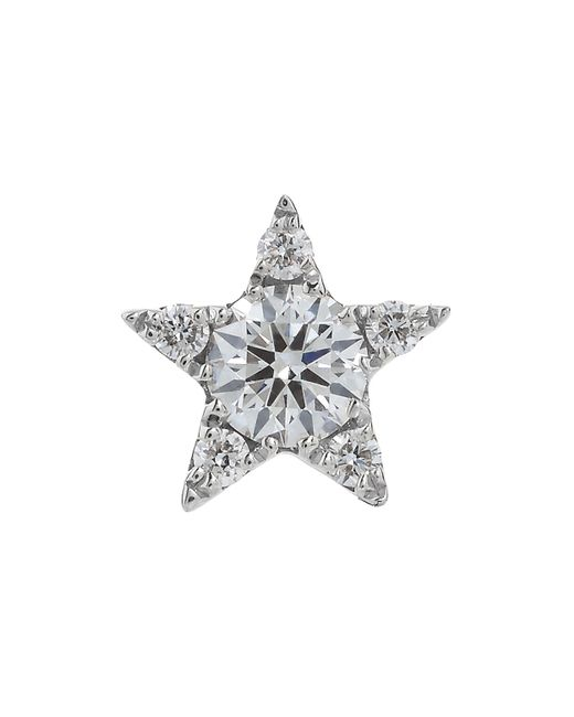 Maria Tash - Multicolor 5.5mm Diamond Star Threaded Stud Earring - Lyst