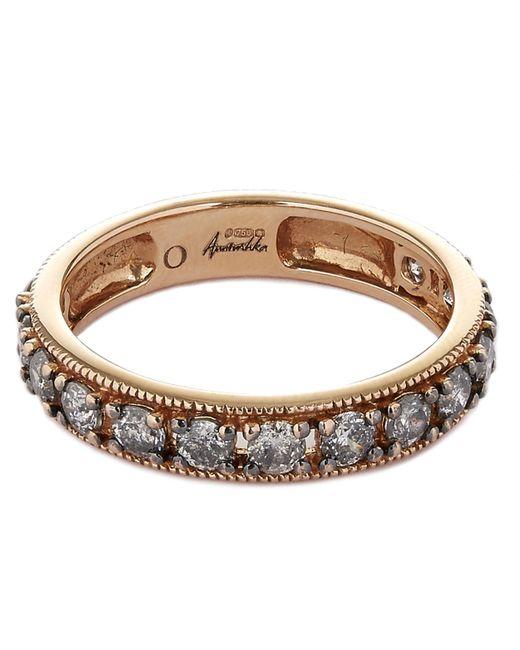 Annoushka - Metallic 18ct Rose Gold Dusty Diamonds Eternity Ring - Lyst