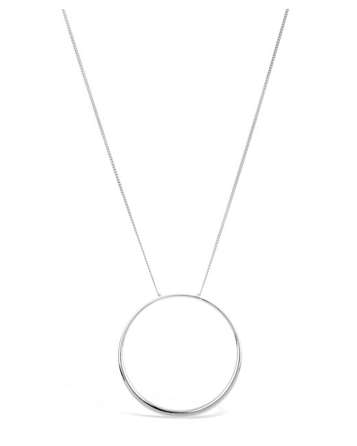 Dinny Hall | Metallic Silver Signature Halo Pendant Necklace | Lyst
