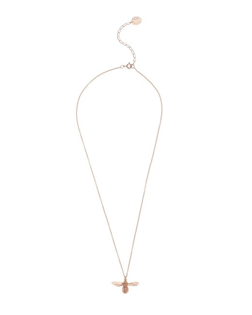 Alex Monroe - Metallic Rose Gold-plated Baby Bee Necklace - Lyst