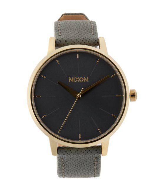 Nixon | Multicolor Kensington Leather Watch | Lyst