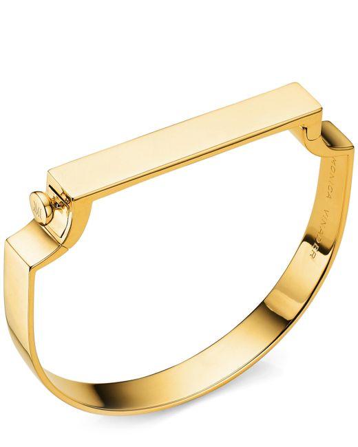 Monica Vinader - Metallic Gold Vermeil Signature Petite Bangle - Lyst