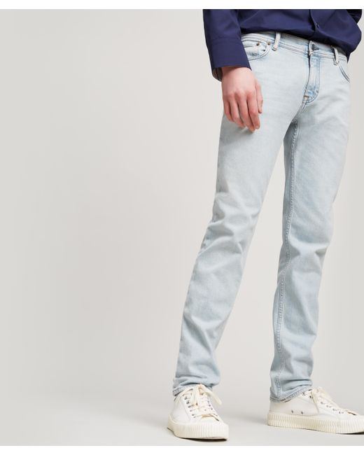Super Acne North Light Blue Jeans in Blue for Men - Lyst @TC_93