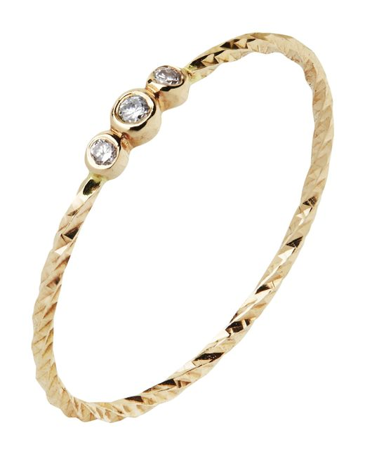 Maria Black - Metallic Gold Diamond Cut Jessa Ring - Lyst