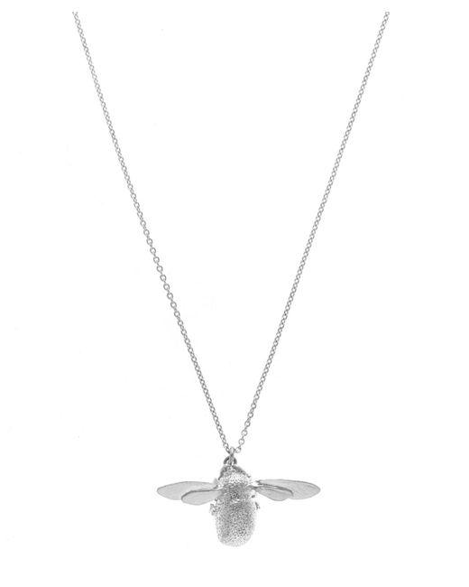 Alex Monroe - Metallic Silver Bumblebee Necklace - Lyst
