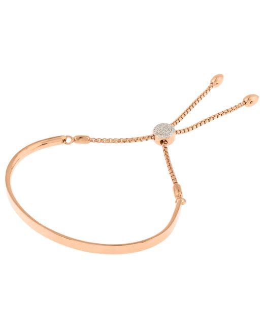 Monica Vinader - Multicolor Vermeil Diamond Toggle Chain Fiji Bracelet - Lyst
