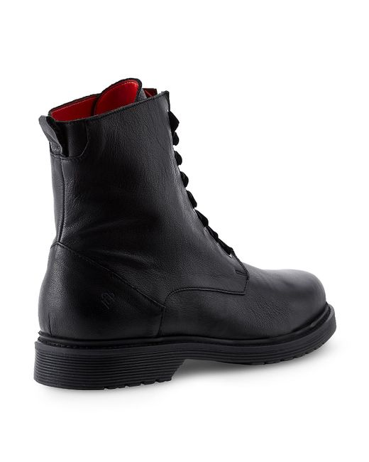 liebeskind berlin combat boot in black for men lyst. Black Bedroom Furniture Sets. Home Design Ideas