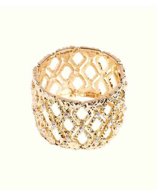 Lilly Pulitzer - Mosaic Stretch Bracelet (gold Metallic) Bracelet - Lyst