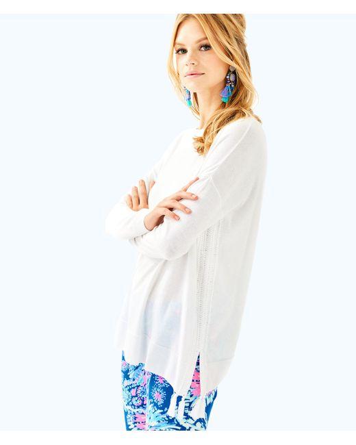 Lilly Pulitzer - White Damara Sweater - Lyst
