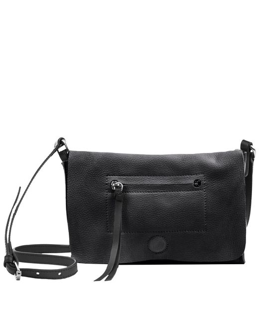 Linea Pelle | Black Hunter Crossbody Bag | Lyst