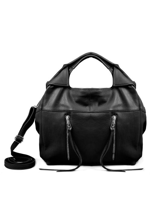 Linea Pelle | Black Wyatt Large Tote Bag | Lyst