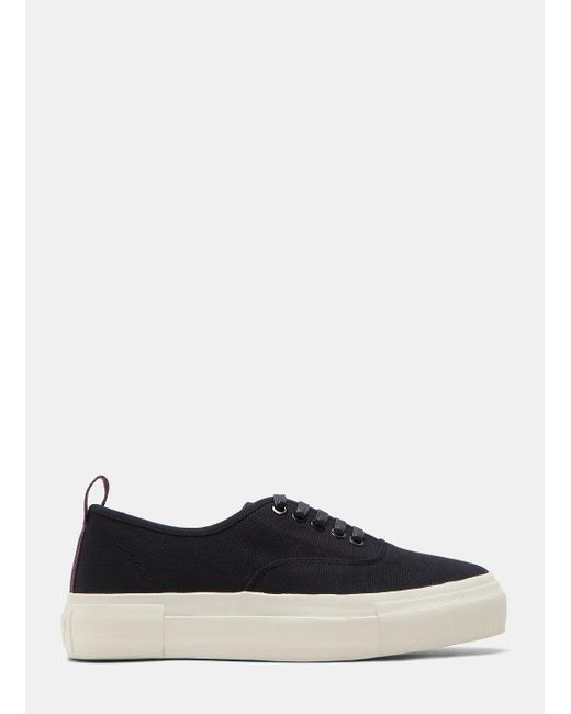 Eytys - Multicolor Black Mother Canvas Sneakers for Men - Lyst