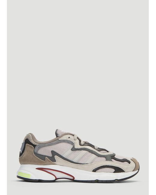 innovative design 7dc23 6d3a5 Adidas - Gray Temper Run Sneakers In Grey for Men - Lyst ...