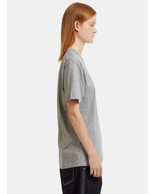 Acne Nash Face Embroidered T-Shirt 50Zn1Sm3R9