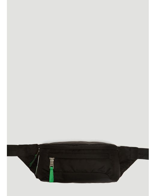 Lyst - Prada Technical Fabric Belt Bag In Black in Black for Men ebe475f501