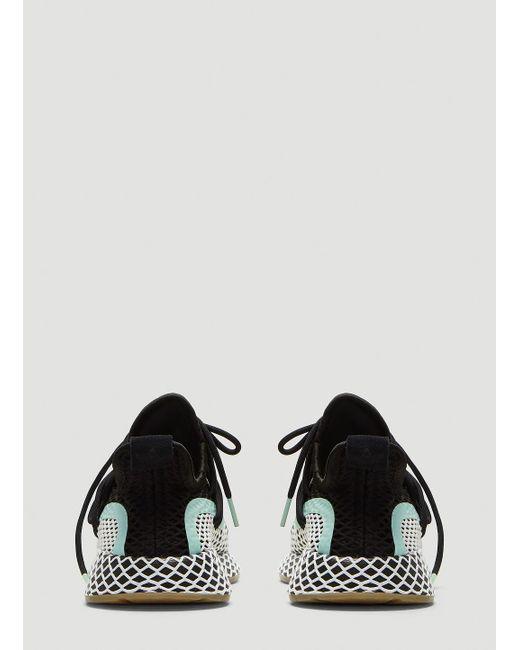 246df818ffd3b ... Adidas - Deerupt S W Runner Shoes In Black - Lyst ...