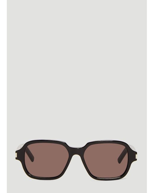 2cb14422b3f0 Lyst - Saint Laurent Sl 292 Ace Sunglasses In Black in Black for Men
