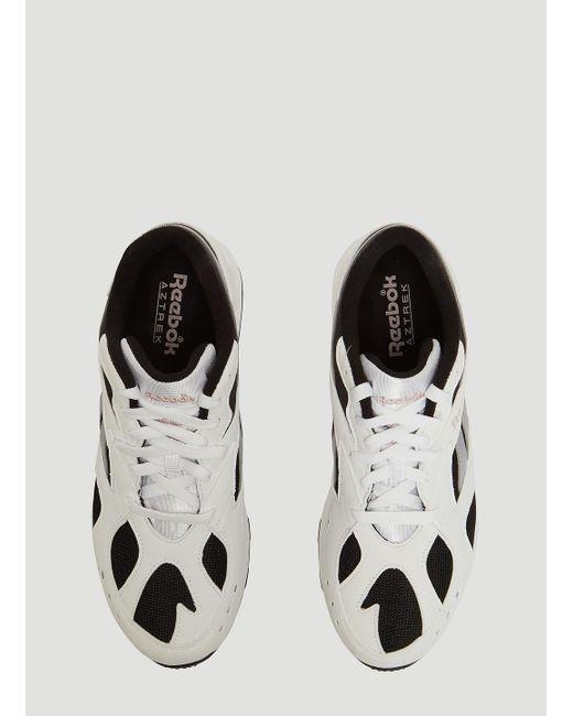 3e0834142db Lyst - Reebok Aztrek Women s Shoes (trainers) In White in White
