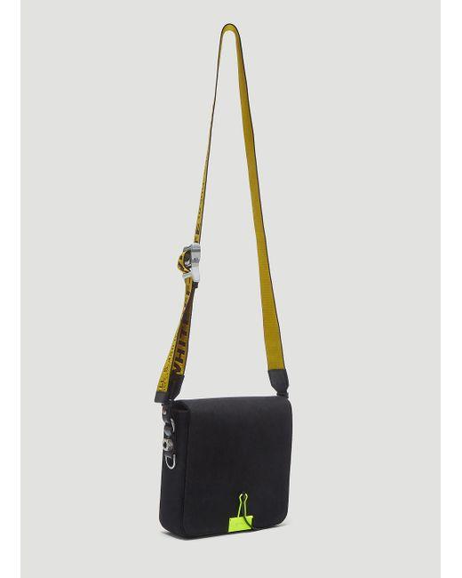 72974335d388 ... Off-White c o Virgil Abloh - Binder Clip Crossbody Bag In Black for ...
