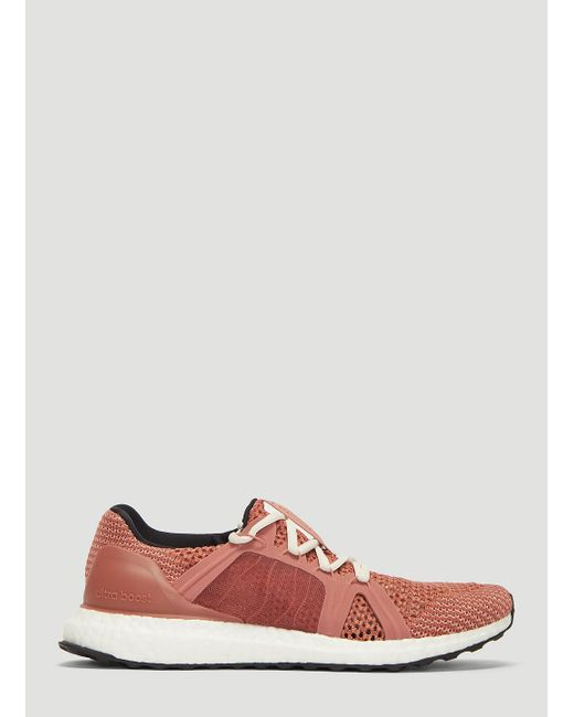 a7b5345a7cc Adidas By Stella McCartney - Ultraboost Running Sneakers In Pink - Lyst ...