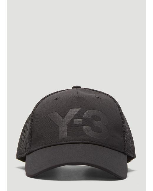 1738670d34f Lyst - Y-3 Trucker Cap In Black in Black for Men