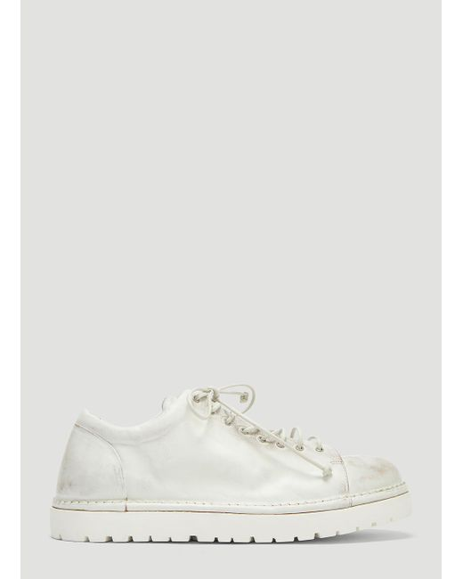 Marsèll - Pallottola Derby Shoes In White - Lyst