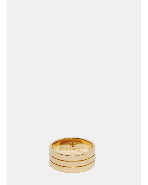 Jem | Jem Women's Voids M Ring From Aw15 In Yellow Gold | Lyst