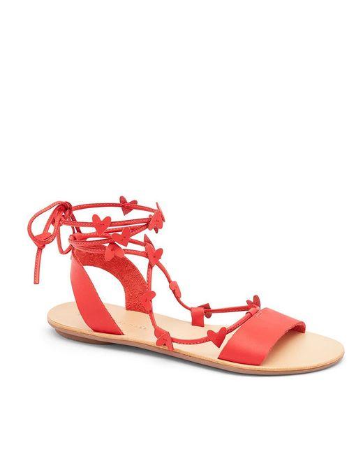 Loeffler Randall - Red Heartla Ankle Wrap Sandal - Lyst