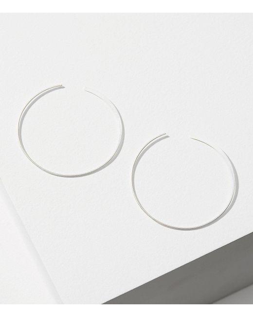 LOFT | Metallic Delicate Hoop Earrings | Lyst