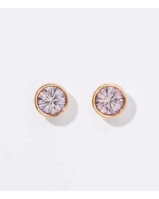 59fcd7bea LOFT - Multicolor Gift Boxed Crystal Stud Earrings - Lyst ...